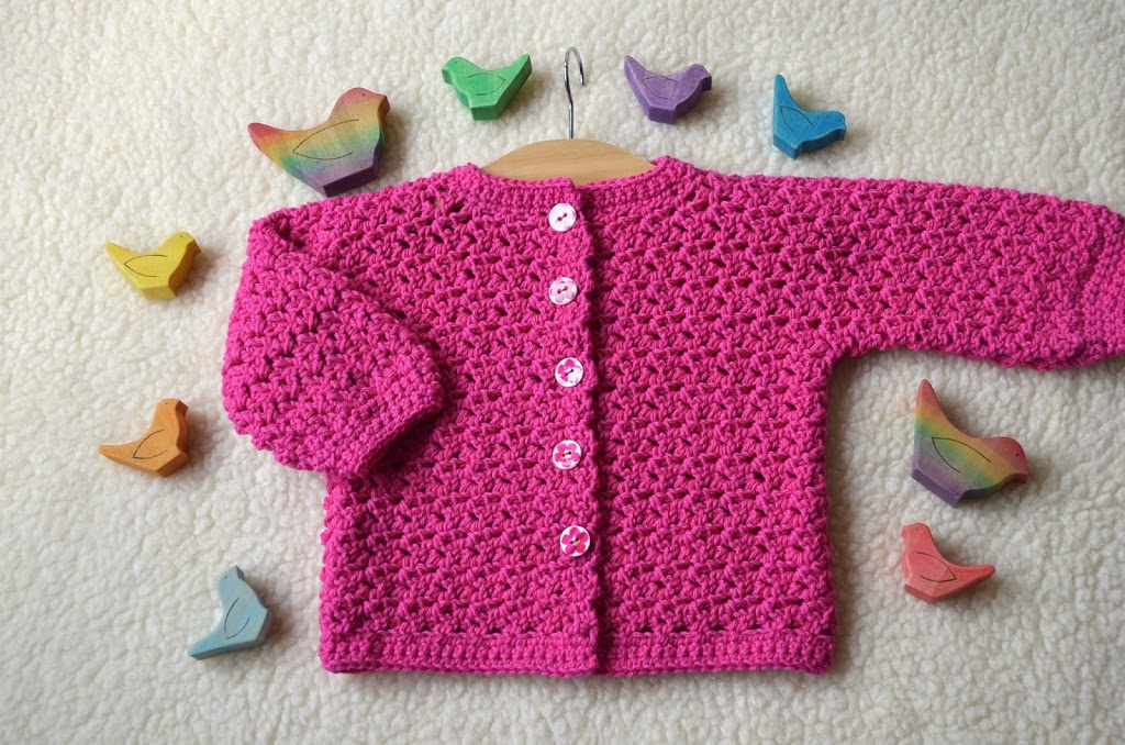 Lily Lotte Cardigan For Babies Vicarno