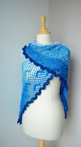 birds in the sky shawl Annelies Baes - Vicarno